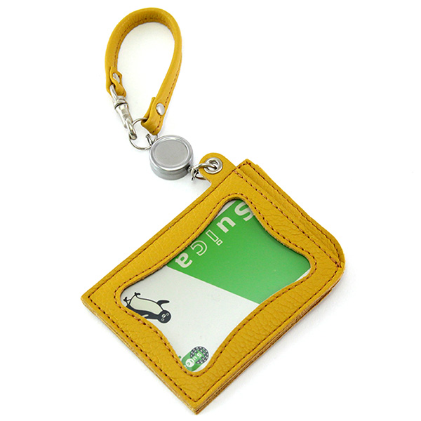 パスケース リール付き IC定期券対応