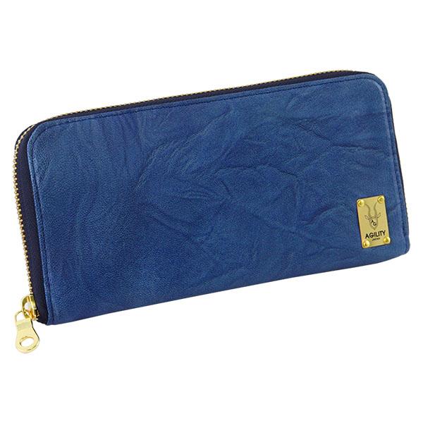 日本製 羊革 長財布 レディース