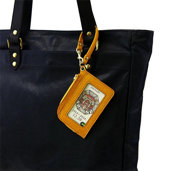 日本製 コインケース カードケース 山羊革