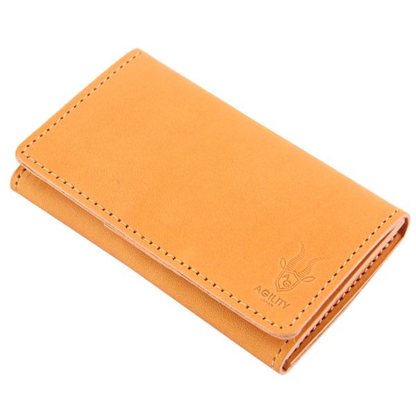 名刺入れ カードケース 国産レザー 牛革 ビジネス小物