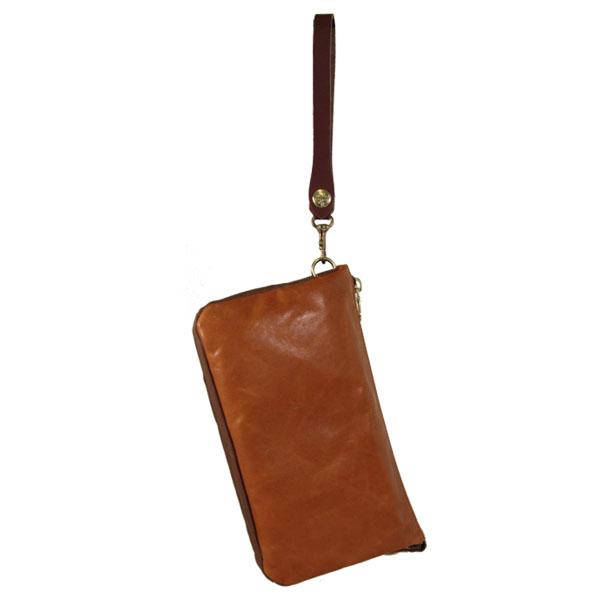 日本製 クラッチバッグ 馬革 レザー 軽量 バッグインバッグ
