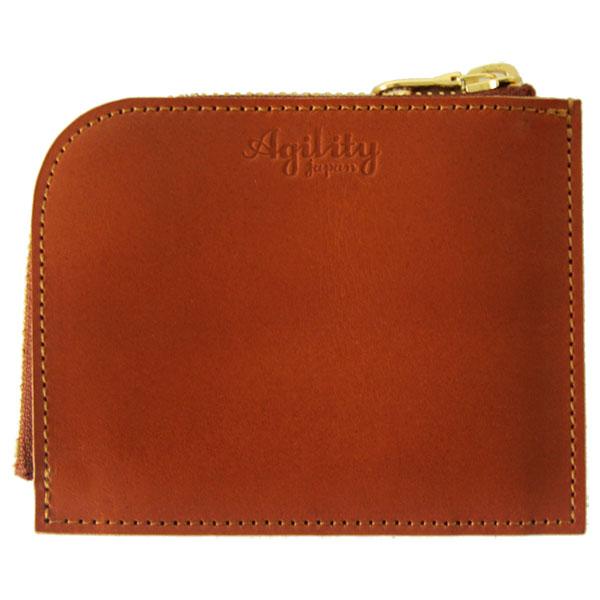 日本製 財布 薄型 コンパクト スリム L字ファスナー
