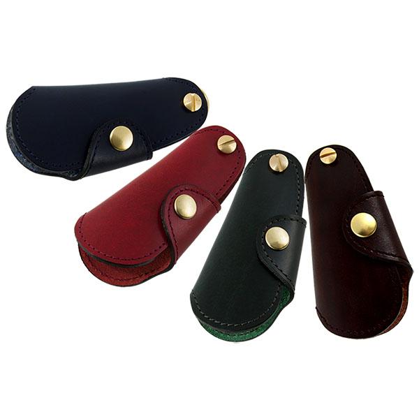 シューホーン キーホルダー 靴べら 真鍮 本革 レザー 日本製 鍵