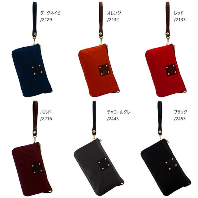 日本製 レディース ナイロン クラッチバッグ バッグインバッグ