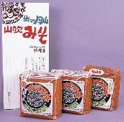 【マルタ醸造】山形 寒河江 創業150年の老舗の逸品 みそ2種3パックセット 【ギフト】