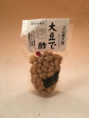 【限定販売】【鏡政治商店】大豆で酢(煮豆) 130g