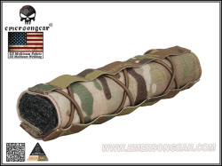 【EMERSON製】サイレンサー(サプレッサーカバー) / 22cm Airsoft Suppressor Cover (Multicam) / EM9330MC