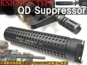 特殊部隊NAVY SEALS/MARSOC(マリーン・レイダース )仕様モデル【Knight's ARMAMENTタイプレプリカ】 M4 QDサイレンサー&専用フラッシュハイダー (14mm逆ネジ対応)