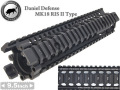MADBULL����Daniel Defense�����ץ�ץꥫ�� MK18 9.5inch RISII�쥤��ϥ�ɥ�����BK
