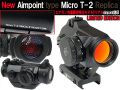 LIMITED EDITION Ver【リアルAimpoint刻印】エイムポイント Micro T-2タイプ Red Dot サイト レプリカ