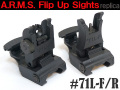 【A.R.M.S.タイプレプリカ】#71L-F/R Front and Rear Sights Set