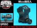 【G&P社製】GP660 / 【Wilcox刻印入】MK18 Mod O 30mm Red Dot Sight Straight Mount