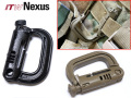 モール装備対応!!【ITW Nexus製実物新品】GRIM Loc(グリムロック) Molle D-ring