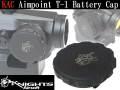 アルミCNC/リアル刻印【KAC】Aimpoint T-1レプリカ対応 バッテリーキャップレプリカ