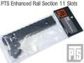 【限定特価!!】本家【PTS製】PTS Enhanced Rail Section 11 Slots / PTS エンハンスドレールセクション 11スロット BK / PT120450307