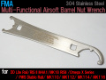 【FMA製】【多機能エアガンバレルナットレンチ】 Stainless Steel Multi-Functional Airsoft Barrel Nut Wrench FMA-TB1001