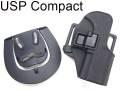 BHIタイプレプリカ CQC ホルスター 【KSC/USP Compact対応】/ブラック