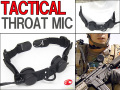 SEALS装備に最適!! タクティカル スロートマイク(Throat Mic)/ Z-TACTICAL製/Z033