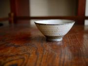 額賀円也 彫三島飯碗
