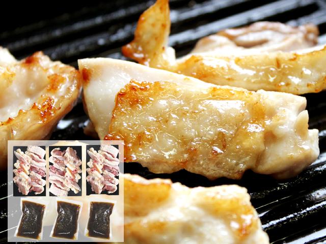無添加自家製手作りタレ付き!比内地鶏焼肉セット