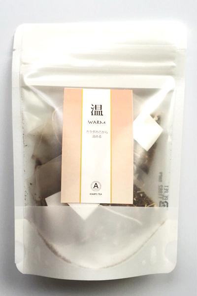 【3点までレターパック可】漢方茶 「温(WARM)」 10包入り(ティーバックタイプ)