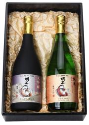 大吟醸と純米「明石鯛」720mlセット