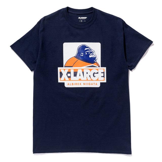 XLARGEtシャツ(ネイビー)