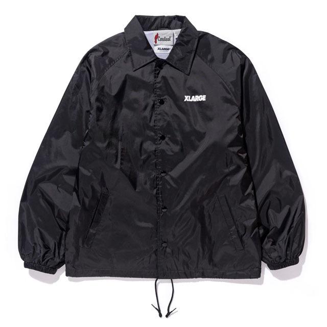 XLARGEコーチジャケット(ブラック)