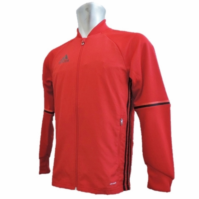 adidas Condivo16 トレーニングジャケット(ソーラーレッド)