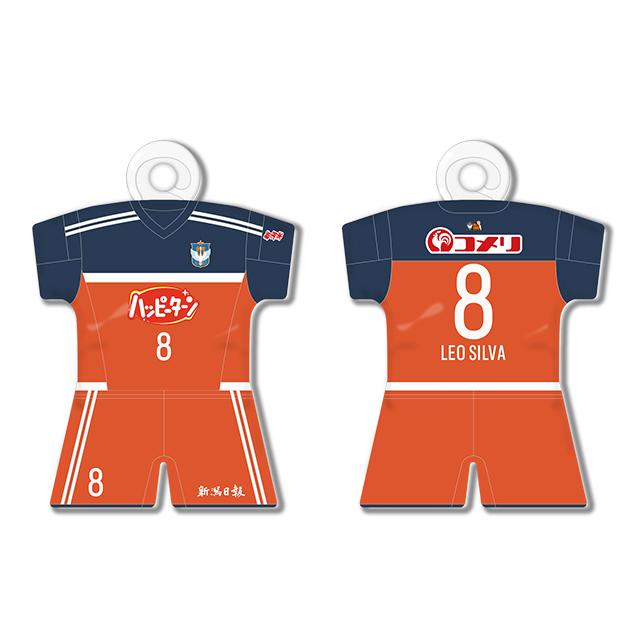 【全選手対応】ユニフォーム型カーサイン フィールドプレーヤー:1stモデル(オレンジ)