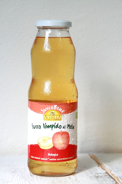 イタリア・アキレア リンゴ100%ストレートジュース