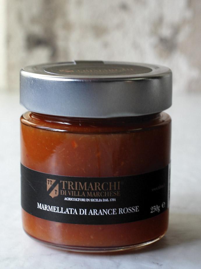 ブラッドオレンジのマーマレード トリマルキ社 イタリア産 (Italian blood orange marmalade by Trimarchi) 商品