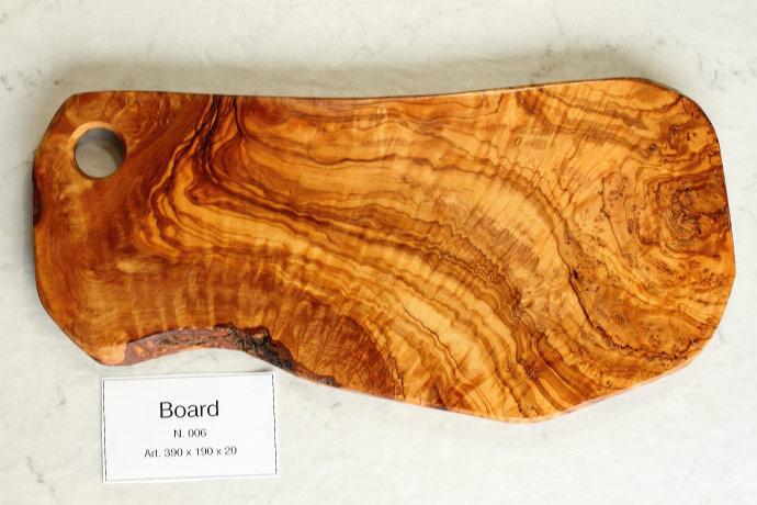 カッティングボード No.61 アルテレニョ社 イタリア製 (Italian Cutting Board made by Arte Legno Olive Wood) 商品