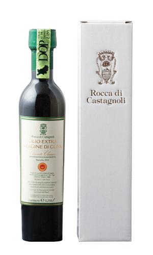 Rocca di Castagnoli社 EXVオリーブオイル「ロッカ・ディ・カスタニョーリ」D.O.P. Chianti Classico 250ml 商品