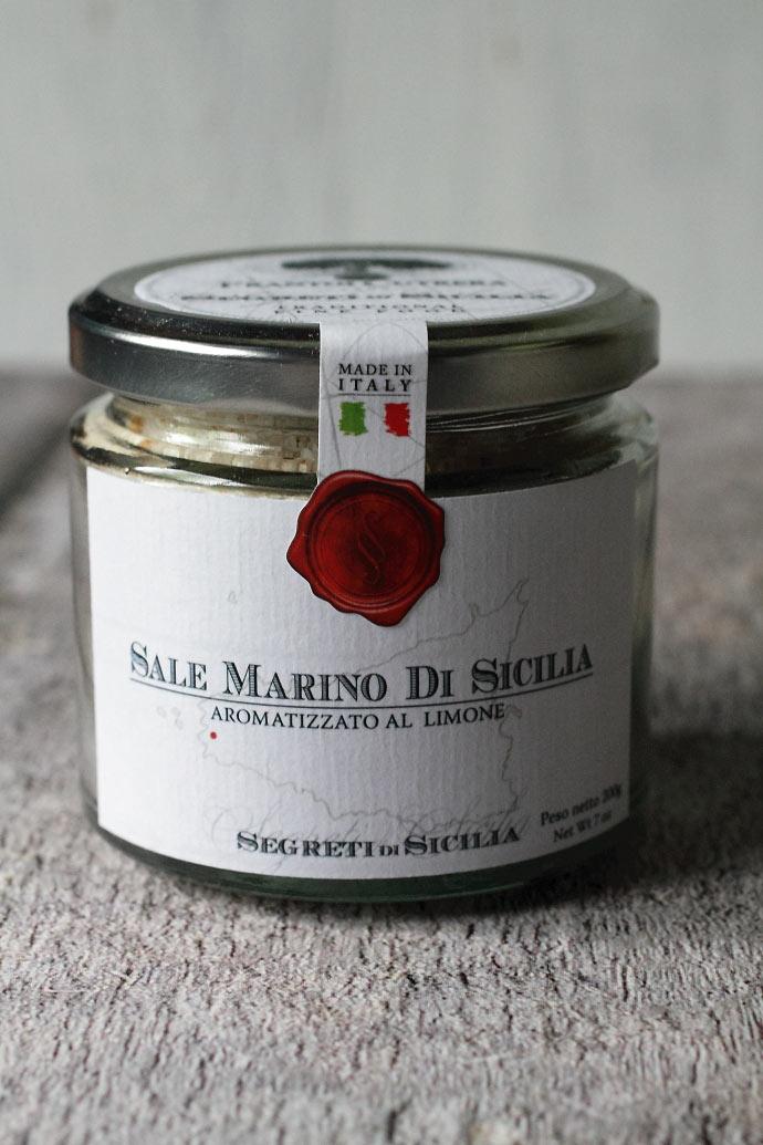 レモンソルト フラントイ・クトレラ社 シチリア イタリア産 (Italian Lemon Sicilia salt by Frantoi Cutrera) 商品