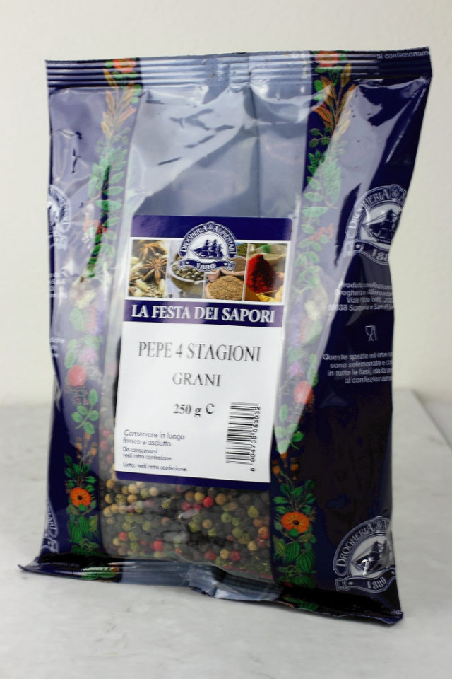 4色ペッパー 250g ドロゲリア アリメンターレ社 イタリア産 (Italian 4 colors pepper by DROGHERIA & ALIMENTARI) 商品