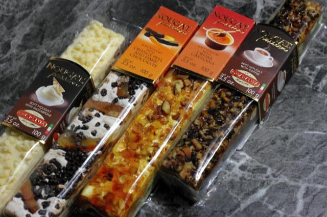 4種のソフト・ヌガー ドルチェ・セット クアランタ社 イタリア産 (Italian Soft Nougat  4 types Dolce version by Quaranta) 商品