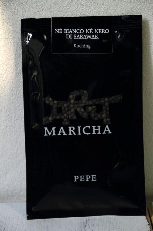 マリチャの胡椒 ネ・ビアンコ・ネ・ネロ・ディ・サラワク