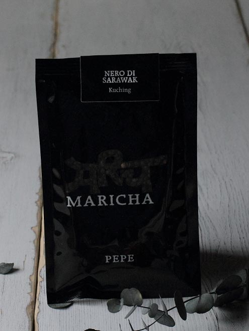 イタリア産のコショウ ネロ・ディ・サラワク MARICHA