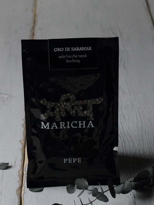 イタリア産のコショウ オーロ・ディ・サラワク MARICHA