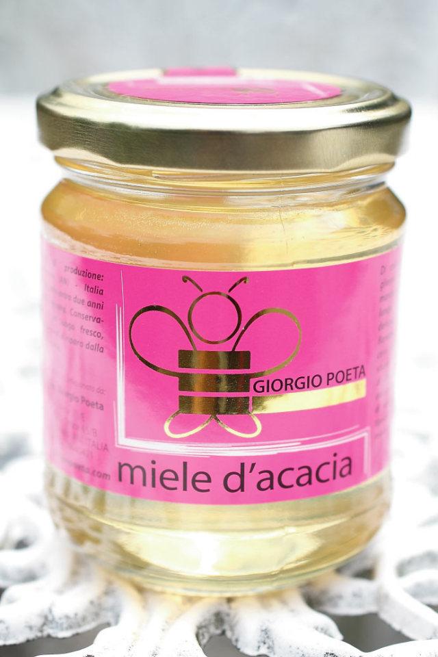 ハチミツ アカシア ジョルジオ・ポエタ社 イタリア産 (Italian acacia honey by Giorgio Poeta) 商品