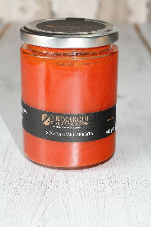アラビアータソース トリマルキ社 イタリア産 (Italian Arrabbiata Sauce by Trimarchi) 商品