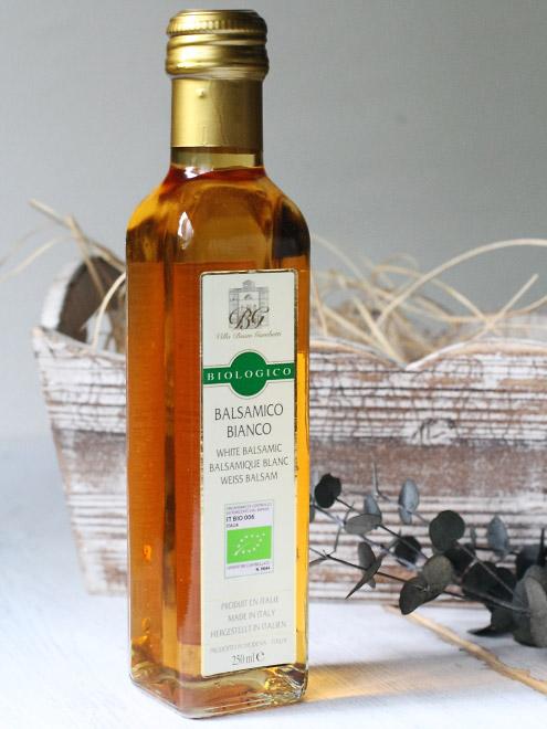 イタリア産 オーガニック 白バルサミコ酢 250ml