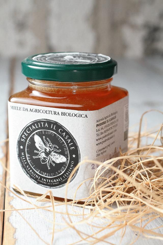 ハチミツ ブラックベリー ポデーレ・イル・カッサーレ社 イタリア産 (Italian black berry honey by Podere il Casale) 商品