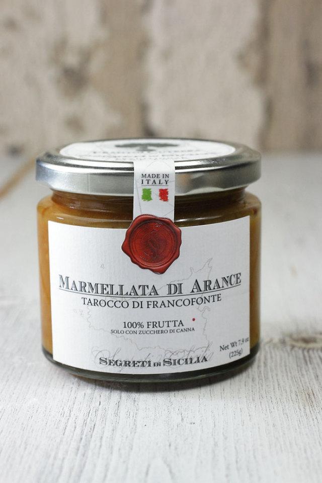 ブラッドオレンジのマーマレード フラントイ・クトレラ社 イタリア産 (Italian Blood Orange Marmalade by Frantoi Cutrera) 商品