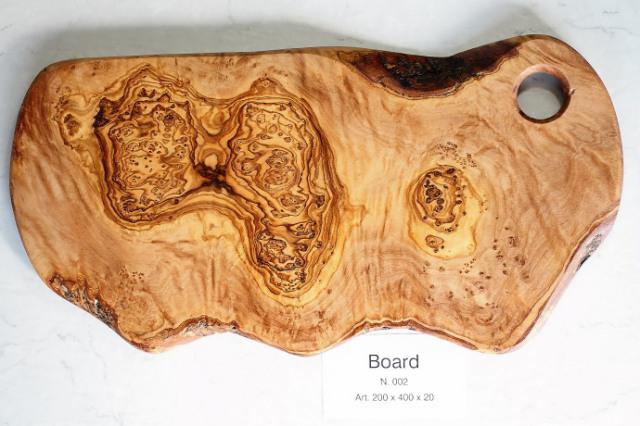 カッティングボード No.2 アルテレニョ社 イタリア製 (Italian Cutting Board made by Arte Legno Olive Wood) 商品