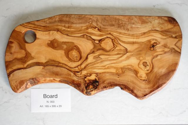 カッティングボード No.3 アルテレニョ社 イタリア製 (Italian Cutting Board made by Arte Legno Olive Wood) 商品