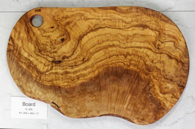 カッティングボード No.5 アルテレニョ社 イタリア製 (Italian Cutting Board made by Arte Legno Olive Wood) 商品