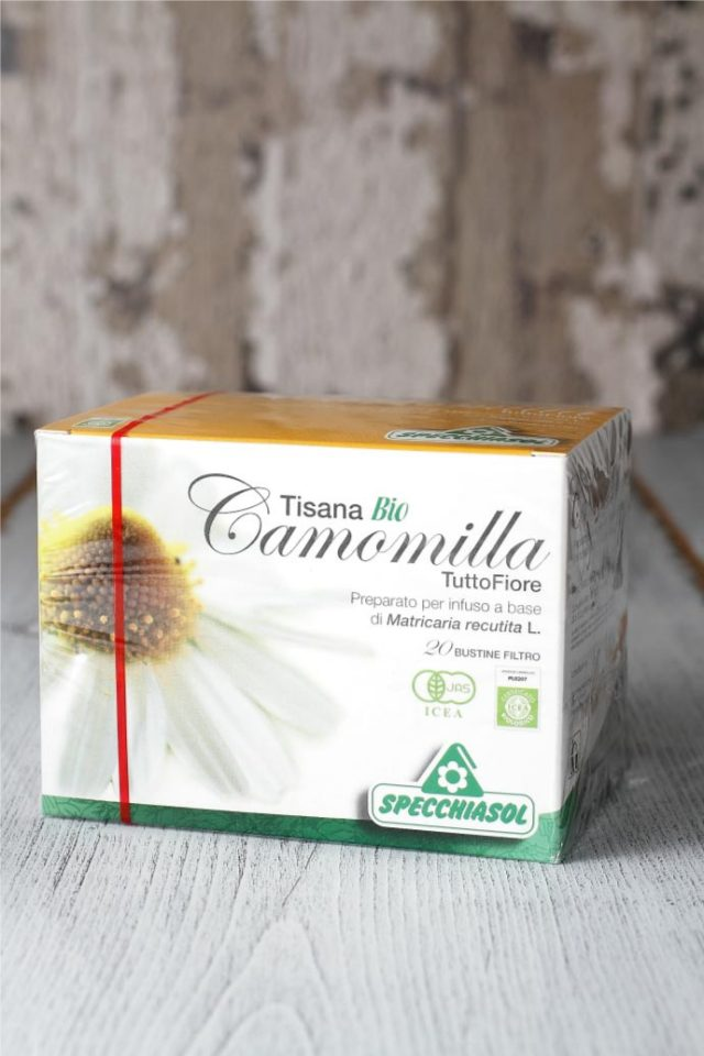 オーガニック・カモミールティー スペッキアソル社 イタリア産 (Italian chamomile tea by Specchiasol) 商品