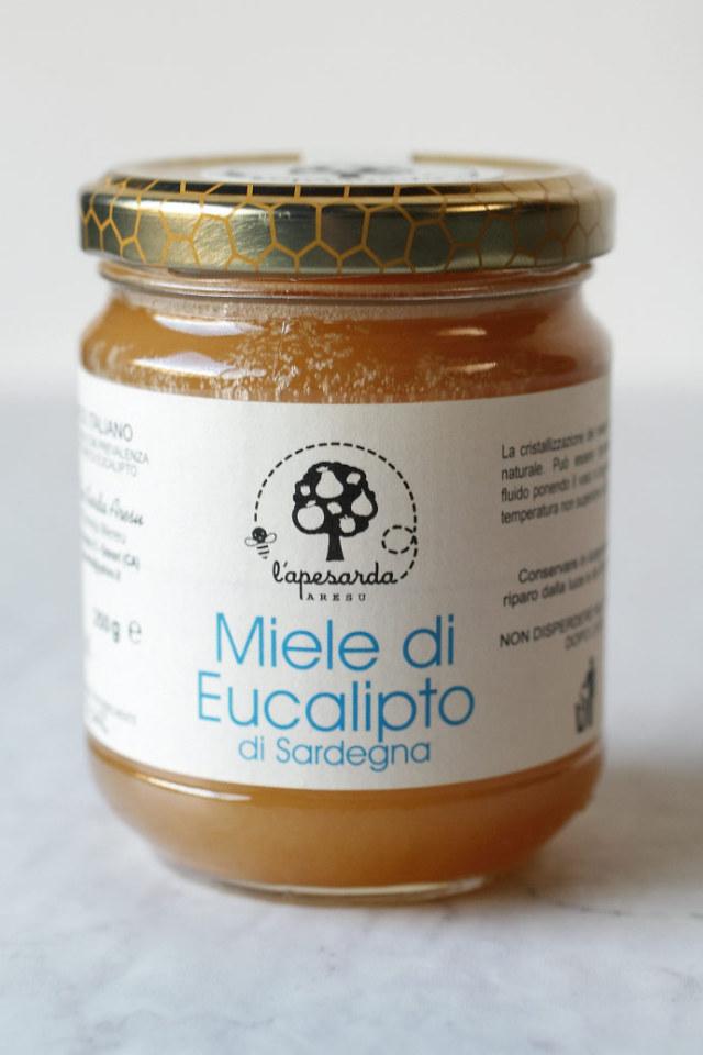 ユーカリの純粋ハチミツ アレスマリア社 イタリア産 (Italian pure eucalipt honey by aresu maria) 商品